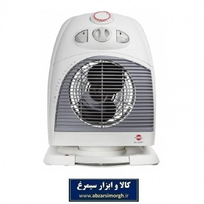 فن هیتر و بخاری برقی پارس خزر مدل SH2000P
