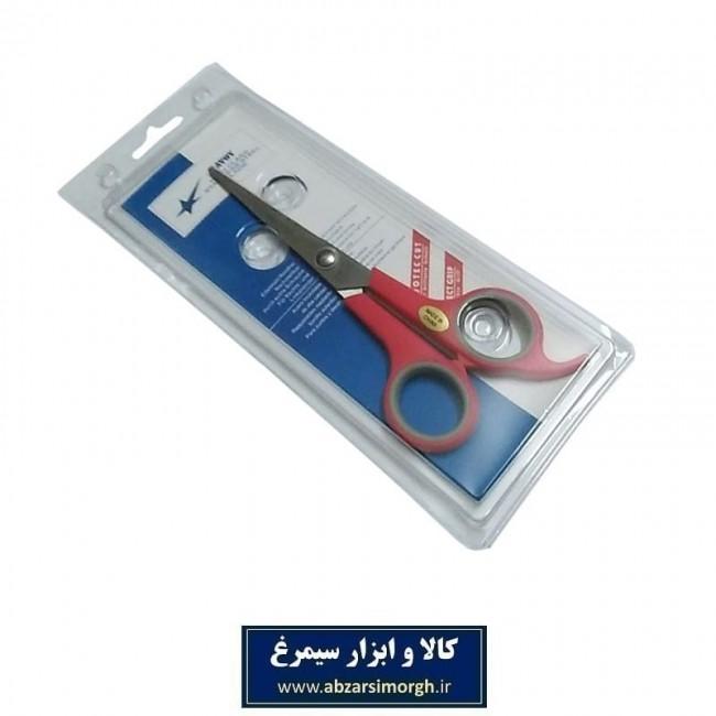 قیچی آرایشی کات تک دم Savoy ساووی ۱۸ سانت قرمز HGC-002-2