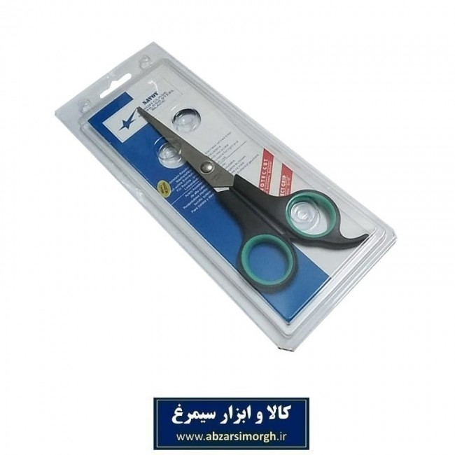 قیچی آرایشی کات تک دم Savoy ساووی ۱۸ سانت مشکی HGC-002-3