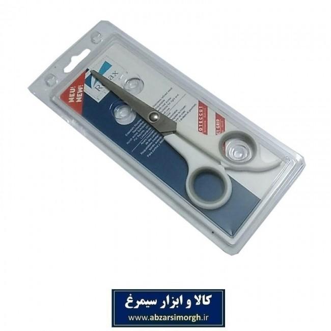 قیچی آرایشی کات تک دم Relax ریلکس ۱۸ سانت سفید HGC-012-3