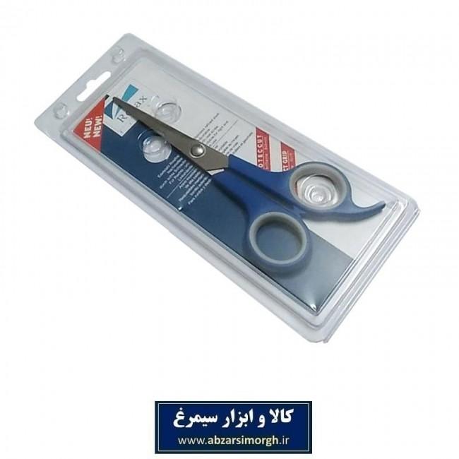 قیچی آرایشی کات تک دم Relax ریلکس ۱۸ سانت آبی HGC-012-3