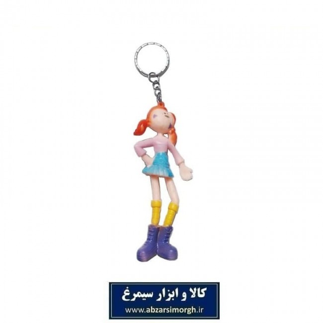 جاکلیدی عروسک دختر فانتزی قد ۱۰ سانت HSK-025