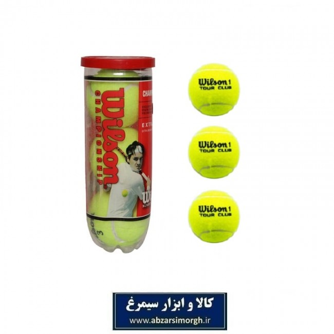 توپ تنیس Wison 1 Tour Club ویلسون ۳ عددی VTT-004
