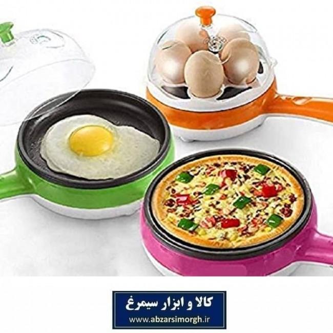 تخم مرغ پز و تابه برقی Magic Pot چند کاره HTM-004