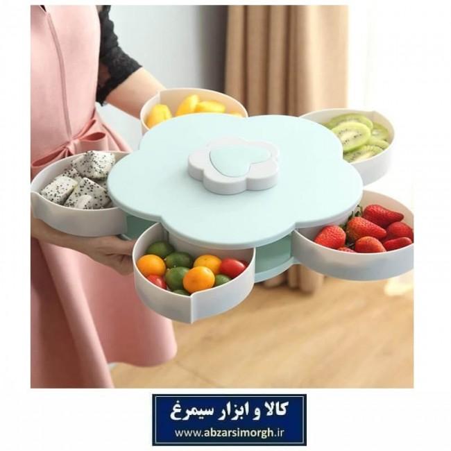 اردوخوری چرخشی طرح گل Candy Box تولید چین HZD-003