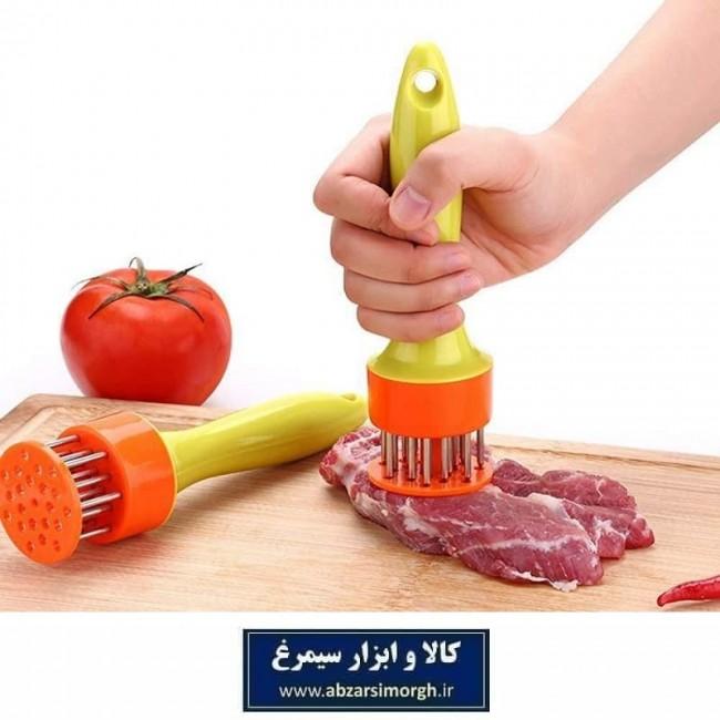 نرم کننده و تندرایزر دستی گوشت یا بیفتک کوب HJ بسته بندی طلقی HSL-020