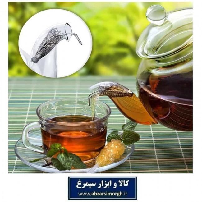 صافی چای فلزی استیل طرح چتر AS ای اس HNO-006