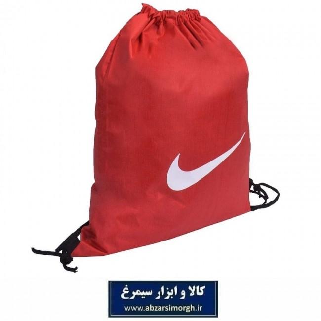 کوله پشتی ورزشی شوزبگ Nike نایک پارچه شمعی VKF-001