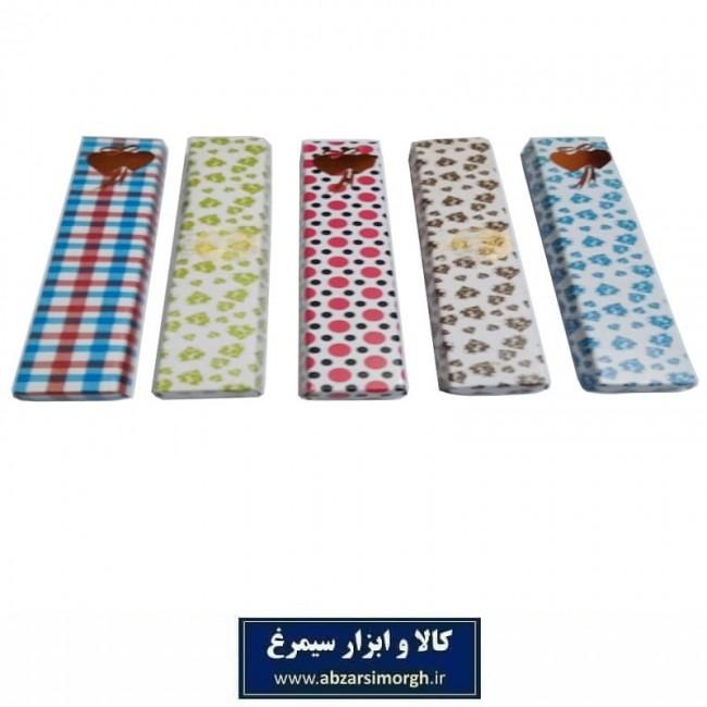 جعبه هدیه و کادویی مقوایی طول ۱۴ سانت بسته ۵ عددی OPK-012