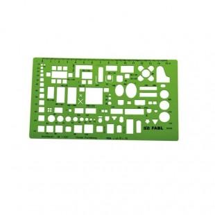 شابلون مبلمان 1/100 فابل FB421 کد OSL-004