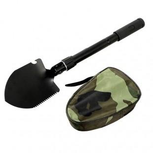 بیلچه ارتشی و کمپینگ تاشو چند کاره قطب نما دار HBA-001