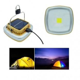چراغ قوه کمپینگ شارژی خورشیدی