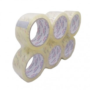 چسب پهن ۹۰ یارد Crystal کریستال ۶ عددی OOCP-001