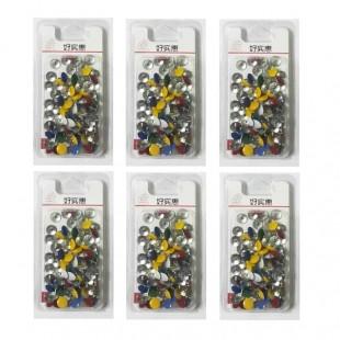 پونز رنگی ۶ بسته ای کد OOPN-001
