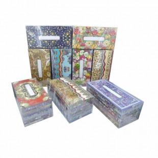 پاکت پول مقوا گلاسه طرح سنتی بسته ۱۰۰ عددی OHPA-002
