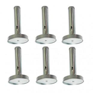 ابزار فلافل زن سایز بزرگ ۶ عددی OHFZ--001
