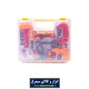 ست ابزار اسباب بازی کیفی TAB-005