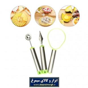 ست ابزار و لوازم ۳ عددی میوه آرایی HMA-001
