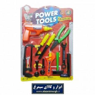 ست ابزار اسباب بازی مکانیکی کودکان ۱۳ عددی سایز بزرگ TAB-003