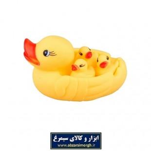 عروسک حمام طرح اردک ۴ عددی TOR-001