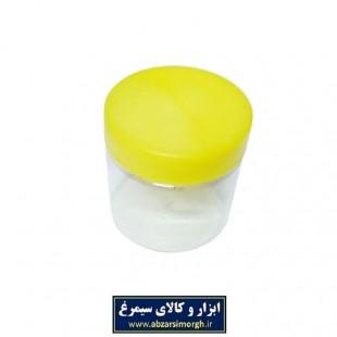 ظرف پلاستیکی درب دار جار ۲۹۰ سی سی ۱۰ عددی PZJ-003