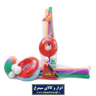 اسباب بازی گلف پلاستیکی توری کوچک TGF-002