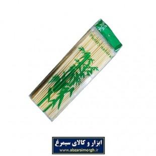 سیخ کباب چوبی ۲۵ سانتی چوب طبیعی HSI-002