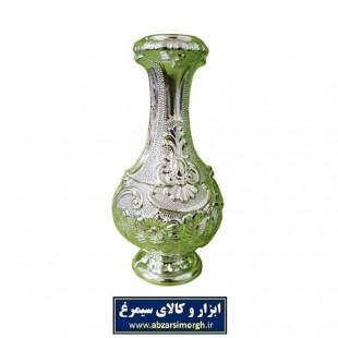 گلدان پلاستیکی نقره ای ارتفاع ۱۵ سانت HGD-006