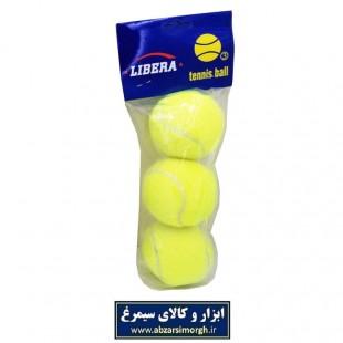 توپ تنیس و هفت سنگ Libera بسته ۳ عددی VTT-003