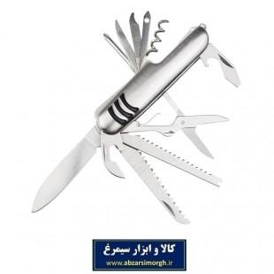 ست ابزار و چاقو ۱۱ کاره مدل Silver سیلور HAC-005