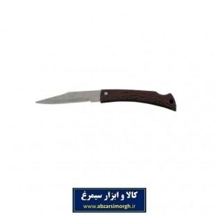 چاقو طرح چوب پشت ضامن ۱۷ سانتی HSK-016