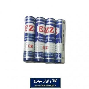 باتری نیم قلمی EZZ ای زد زد ۴ عددی EBT-001