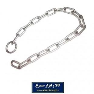 زنجیر فرمان حلقه دار سایز ۸ کد KZF-003