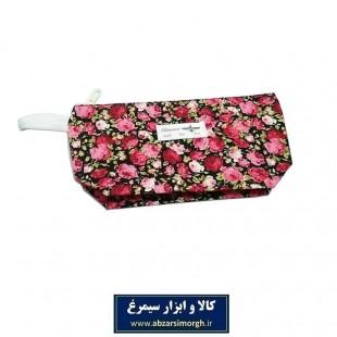 کیف آرایشی زنانه پارچه ای قایقی بارانا ۲۶ سانت HKF-025