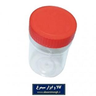 ظرف پلاستیکی درب دار جار ۴۰۰ سی سی ۱۰ عددی PZJ-004