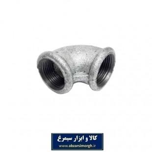 زانویی گالوانیزه ۹۰ شماره ۲.۵ کد SSH-022