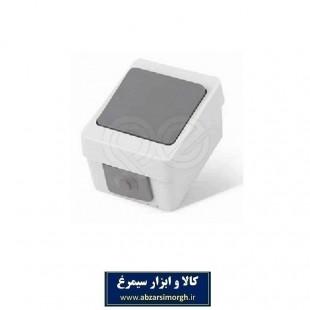 کلید تبدیل برق بارانی مدل PE72 پارت الکتریک EKD-001