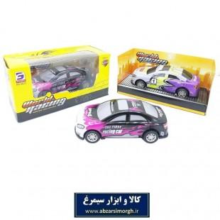 ماشین اسباب بازی عقب کش فلزی World Racing جعبه دار ۱۰ سانت TMT-008