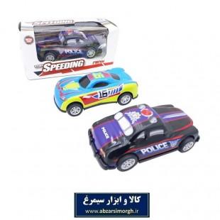 ماشین اسباب بازی عقب کش فلزی تاپ اسپیدینگ Top Speeding جعبه دار ۱۰ سانت TMT-010