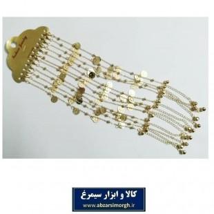 پابند و خلخال طلایی جور ZBD-003