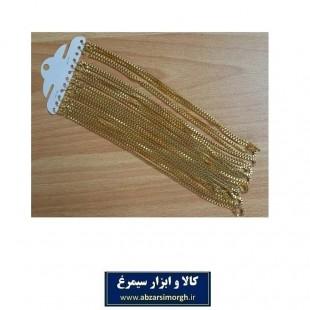 زنجیر گردنی مردانه بدلی طرح ونیزی ZBD-008