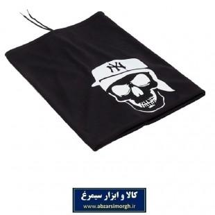کلاه اسکارف پارچه ای مشکی NY نیویورک CKL-004