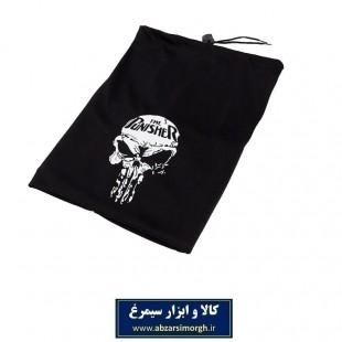 کلاه اسکارف پارچه ای مشکی Punisher پانیشر CKL-005