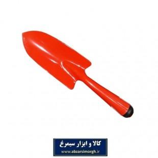 بیلچه باغبانی فلزی رنگ قرمز HBB-001