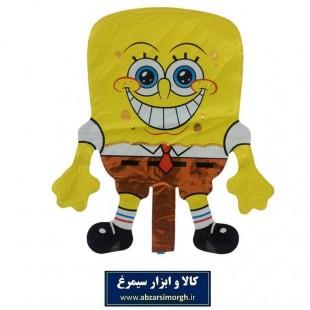 بادکنک فویلی Bob Sponge باب اسفنجی سایز کوچک TKT-002
