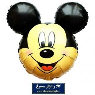 بادکنک فویلی Mickey Mouse میکی موس سایز کوچک TKT-003