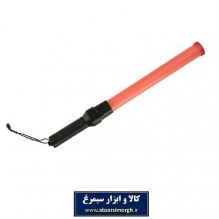 باتوم هشدار دهنده ایمنی و حراست چراغ دار باتری خور IHR-001