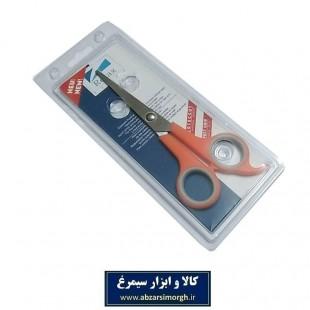 قیچی آرایشی کات تک دم Relax ریلکس ۱۸ سانت نارنجی HGC-012-2