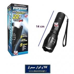 چراغ قوه پلیس مسافرتی Tac Light 22X تک لایت مشکی ECG-009