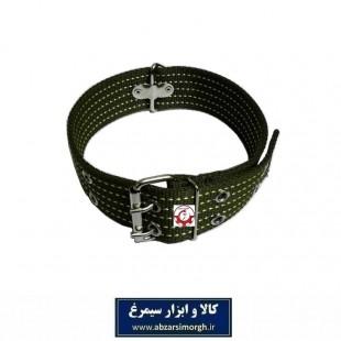قلاده گردنی سگ برزنتی بزرگ و پهن رنگ قهوه ای HPS-009C